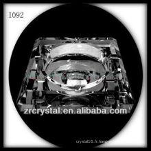 K9 Cendrier en cristal