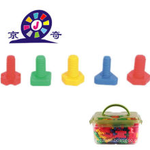 Gute Verkauf Plastik Schraube und Mutter Baustein