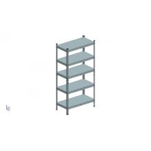 Rack de metal para serviços médios para armazém