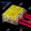 Conector rápido de alambre eléctrico (4 hilos, empuje)