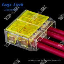 Quick Electrical Wire Connector (4 Drähte, eindrücken)