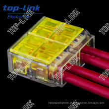 Quick Electrical Wire Connector (4 fios, empurrar para dentro)