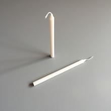 White Straight Stick Plain Smokeless Tearless Candles Bulk