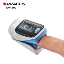 Oxímetro portátil do dedo da exposição médica aprovada do CE de DW-80C