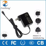 hot new products for 2016 USB Type-C charger adapter 5.25V 3A for Google/ASUS/LENOVO/HP for ASUS ZenPad S 8.0 Zen AiO