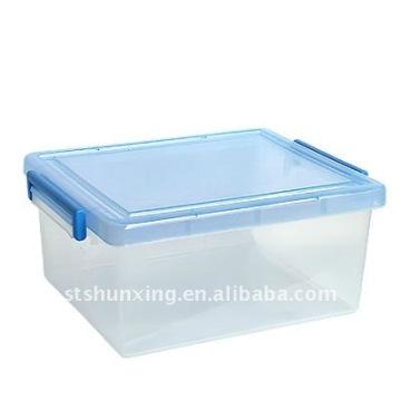 Китай завод пластиковые среднего размера универсальный ясно коробка для хранения для оптовой продажи