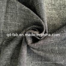 Tissu 100% coton teinté en fil de coton (QF13-0754)