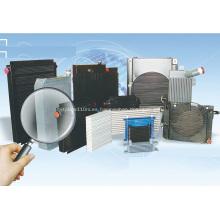 Enfriadores de barra de placa de aluminio enfriado por aire