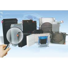 Refroidisseurs à barres en aluminium refroidis par air