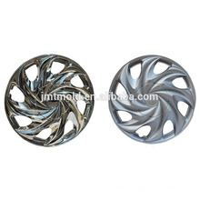 La glissière adaptée aux besoins du client par forme élégante de cube moule le moule de couverture de roue