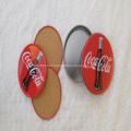Round Cork Coaster Sets With Tin Box