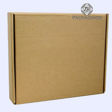 Shipping packing carton corrugated box