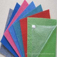 Polyester Roter Teppich mit transparentem beschichtetem Film