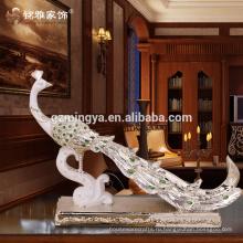 Низкой ценой новое Прибытие Оптовая Смолаы творческая Павлин дизайн Смолаы павлин смолы дома