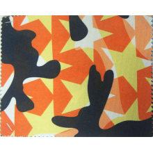 Tissu de polyester imprimé par étoile de camouflage de 900d avec le revêtement d'unité centrale