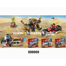 Bloc de construction de jouets en plastique de bricolage de promotion (899909)