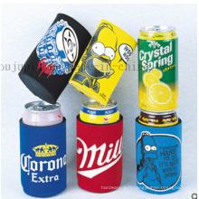 Couverture de douille promotionnelle de canette de coke de bière de néoprène d'impression d'OEM