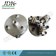 Diamond Rotary Bush Hammer for Litchi Surface