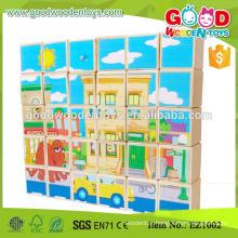 EZ1002 Educationa Toy Alphabet Learning Wooden Blocks