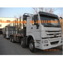 ساينو تراك HOWO 2 axles log transpport شاحنة