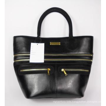 Guangzhou Wholesale Fashion Leather Woman Handbag (180)