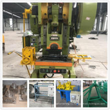 High quality automatic normal and reverse twist barbed wire making machine