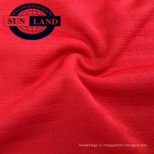 Tissu jacquard 100% polyester coupe ajustée
