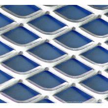 Rede de chapa metálica expandida de aço inoxidável Deco expandida