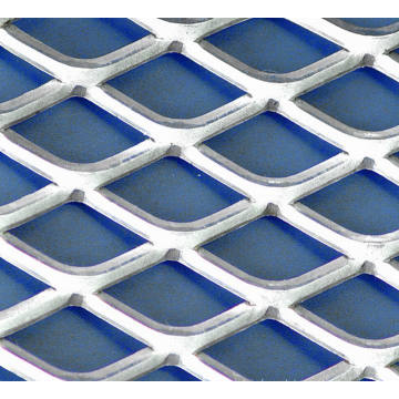 Aluminium Small Hole Expanded Metall Mesh / Expanded Metall Lath