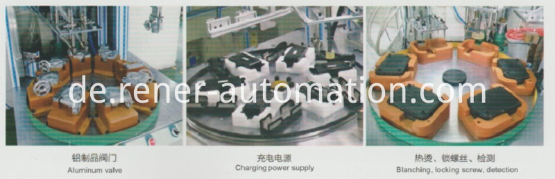 Automatic screw driving machine E