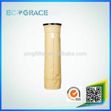 PE / PPS / PTFE / P84 / Bolsa de filtro de polvo de fibra de vidrio