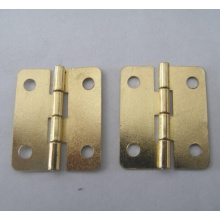 Latão de metal ajustável Dobradiças de porta de madeira