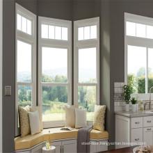 Aluminum Vertical Sliding Windows Sashless Single Aluminum Glazed Window for Australia USA Europe
