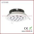 Beruf 12X3w vertiefte LED-Decken-Downlight für Uhren-Shop LC7212k