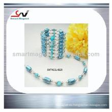 Personalizado Pulido envuelto ornamentos magnéticos de ferrita