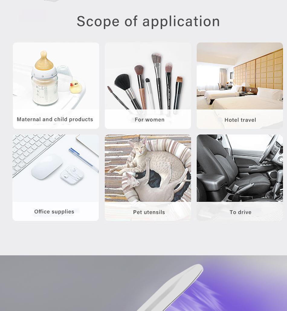 foldable uv sterilizer lamp