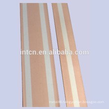 Silver copper clad metal strip for stampings