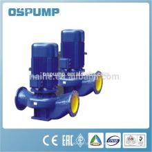 Pompe de tuyauterie verticale industrielle
