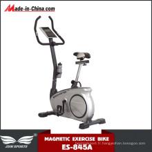 Vélo magnétique droit de bâtiment de volant de corps avec le moniteur (ES-845A)