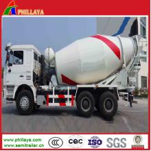 Zementrommelmischer-halb Anhänger / Zement-Mischer-Maschinerie