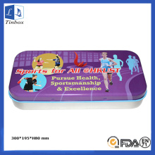 Rectangulaire Art Paint Pencil Packaging Box