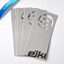Comercio al por mayor ahueca hacia fuera la etiqueta del oscilación de la cartulina de papel / etiqueta de papel colgante