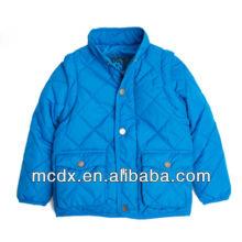 el nuevo diseño de la manera a prueba de viento y los niños impermeables abajo chaquetas