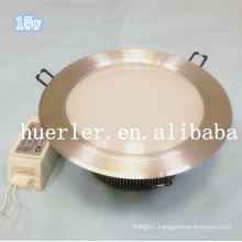 6 inches led recessed light ip65 15w led downlight