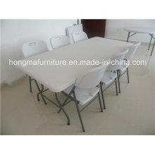 5-футовая наружная мебель складного стола для всей продажи