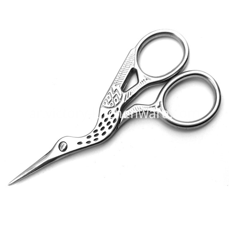 Stainless Steel Eyebrow Scissors