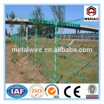 Anping Wei hao provide galvanized barbed wire/PVC barbed wire/barbed wire for sale