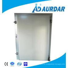 Painel de armazenamento frio porta deslizante da sala fria