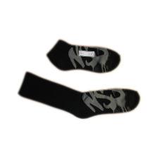 Mode Männer Frauen Sport Socken mit schwarzer Baumwolle (fss-05)