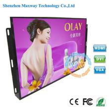 Monitor aberto HDMI do brilho alto de quadro de 24 polegadas com os botões do menu